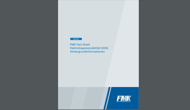 FMK Fact Sheet: Elektrohypersensibilität (EHS) Hintergrundinformationen