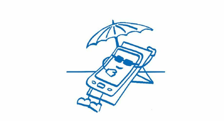 Endlich wieder Urlaub! Smartphone ist der wichtigste Begleiter