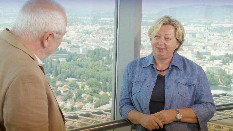 """""""5Gespräche"""" mit Mag.a Margit Kropik"""